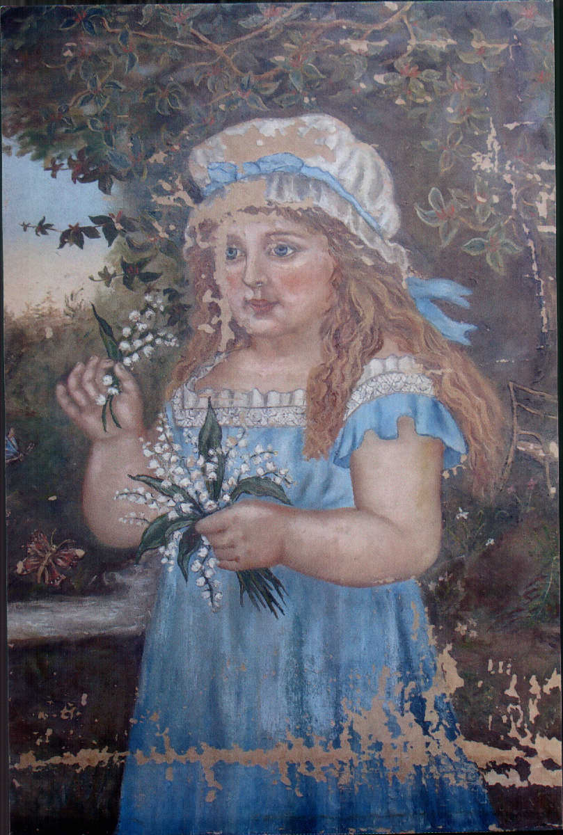 Painting before restoration.